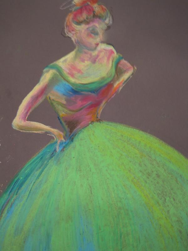 Dancing Girl by Belinda Baynes