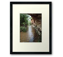 Deer Creek Framed Print
