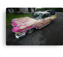 Custom Caddy Canvas Print