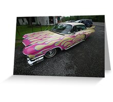 Custom Caddy Greeting Card