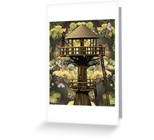 The Brownies Treehouse Greeting Card