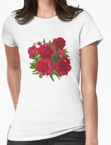 Red peony bouquet T-Shirt