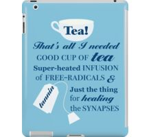 Doctor Who - 10 Tea Quote iPad Case/Skin