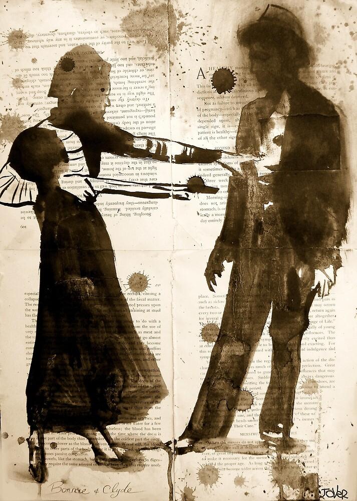 Bonnie & Clyde by Loui  Jover