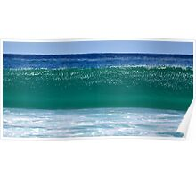 Bondi Beach Wave Poster