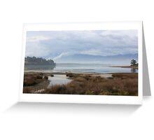 Watercolour scene on the Waimea Inlet Greeting Card
