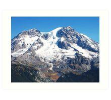 Mt. Rainier Art Print