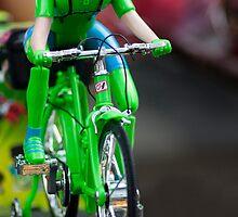cyclist by Sajeev Chandrasekhara Pillai