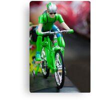 cyclist Canvas Print