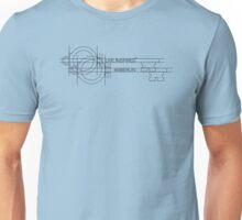 Anberlin - Live Inspired Skeleton Key Unisex T-Shirt
