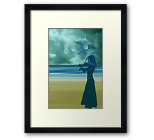 Seaside - day 1 Framed Print
