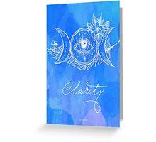 Third Eye - Chakra Greeting Card