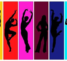 The Dancing Colors by ciaca