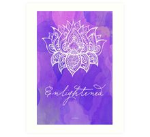 Crown Chakra - Enlightened Art Print