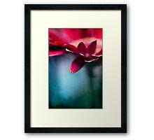 ...nel mio cuore - atto secondo... Framed Print