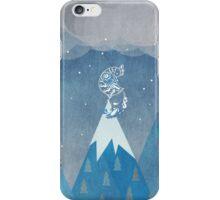 mountains bird iPhone Case/Skin