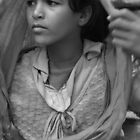 Bedouin Girl by Katie  Hollamby
