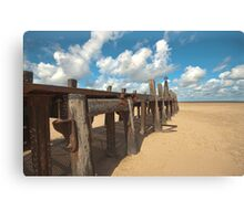 The Old Jetty Canvas Print