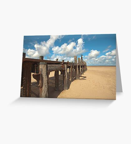 The Old Jetty Greeting Card