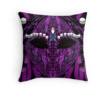 Alien Mask 7w7x7yj Throw Pillow