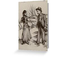 Bonnie Parker and Clyde Barrow  Greeting Card