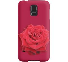 Red Rose on Red Samsung Galaxy Case/Skin