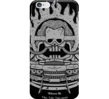 WITNESS ME iPhone Case/Skin