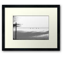 """""""ROOST"""" Framed Print"""