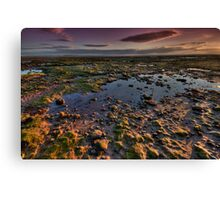 Cockerham Sands Canvas Print