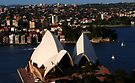 Above The Opera House by Ron Hannah