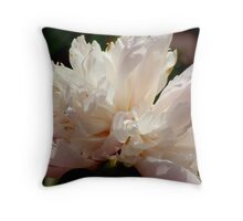 Peony Perfection (for lensbaby) Throw Pillow
