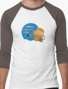 Oh My God, The Quarterback Is Toast! Men's Baseball ¾ T-Shirt