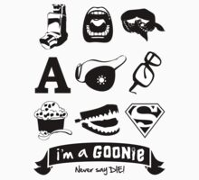 I'm a Goonie! Kids Clothes