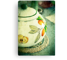 My kettle Canvas Print