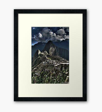 Machu Pichu Framed Print