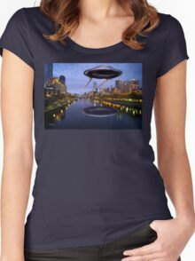 UFO Melbourne Women's Fitted Scoop T-Shirt