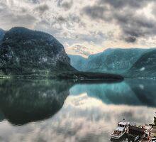 Hallstatter Lake, Austria - HDR Panorama by Luke Griffin