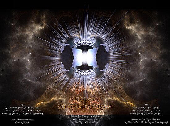 I Master - The Twilight Of Reason by xzendor7