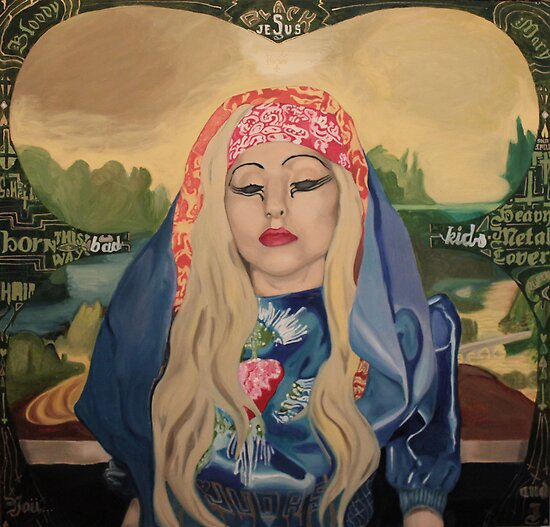 Gaga-Lisa Made For Judas by QUEARTISTRY