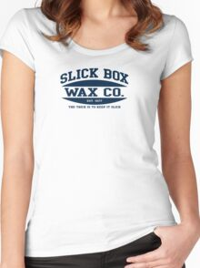 SLICK BOX Women's Fitted Scoop T-Shirt