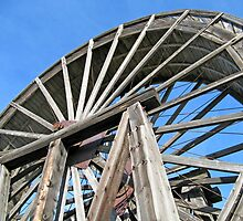 Waterwheel at Fort Steele by Twistedwhisker1