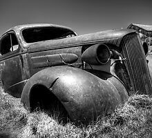 Abandoned Car, Bodie, California by Firesuite