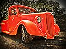 36 Orange Ford Pickup by ChasSinklier