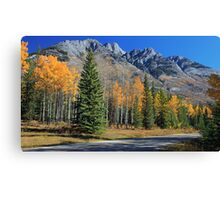 There's Gold in Them Thar Hills! Canvas Print