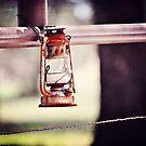 Antique Lantern by Glenna Walker