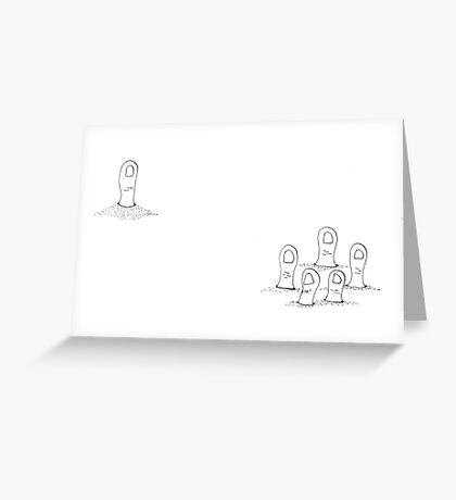 Thumbody's Missing Greeting Card