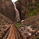 Walkway to Njupeskär Waterfall by Jo Nijenhuis