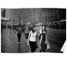 Shower on 7th avenue Poster