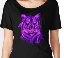AAG1  PURPLE TIGER  Women's Relaxed Fit T-Shirt