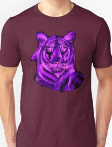 AAG1  PURPLE TIGER  Unisex T-Shirt